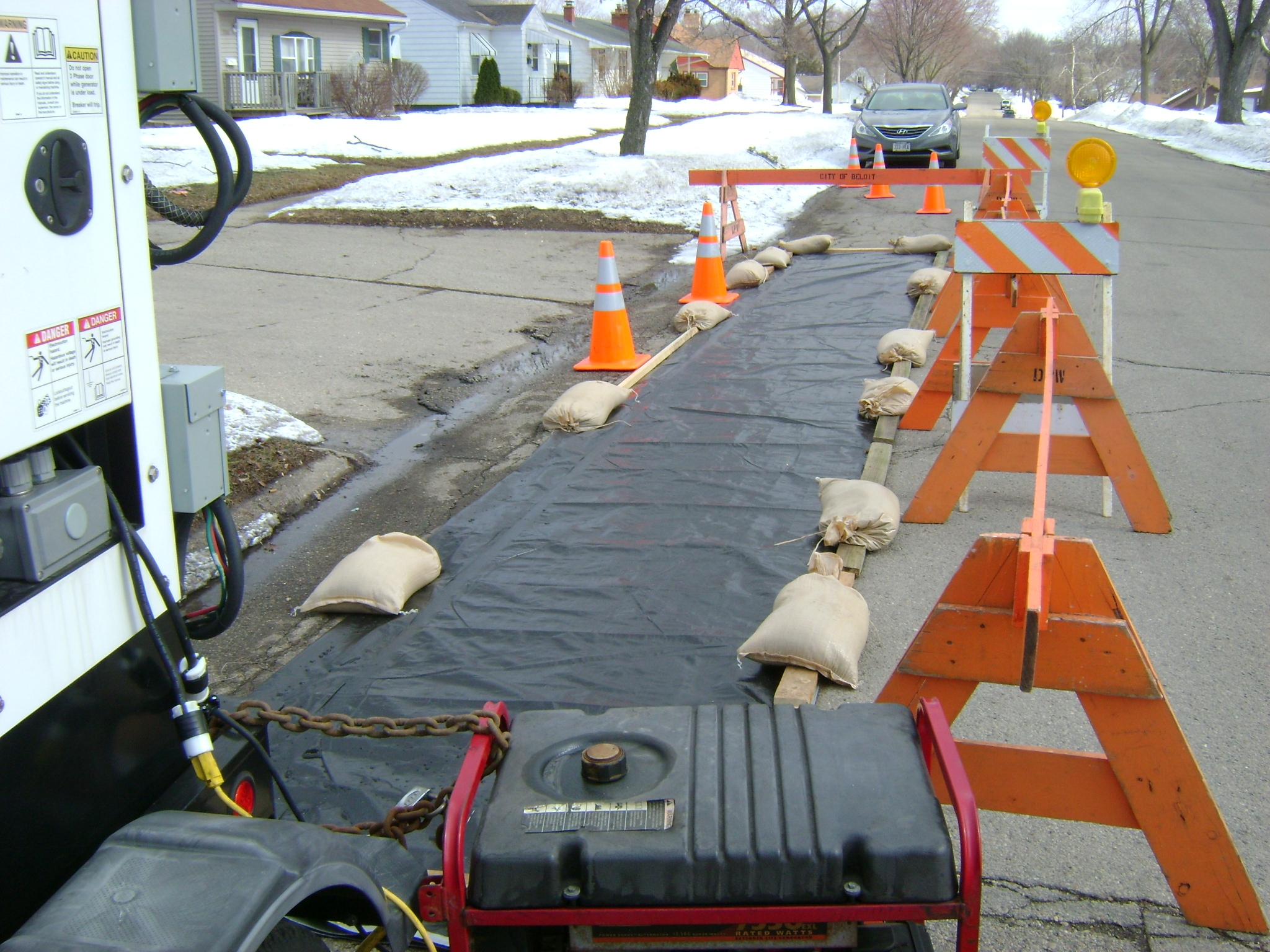 Ground thawing faq for Foundation blanket wrap insulation