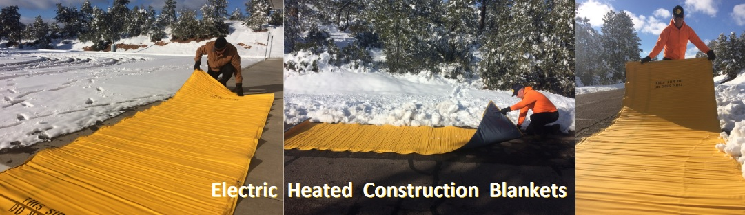 THAW FROZEN GROUND - CURE CONCRETE - HEAT MATERIALS & EQUIPMENT